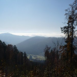 31.10.2009  11:23, autor: Amigo / Pohľady na hrebeň Veporských vrchov...