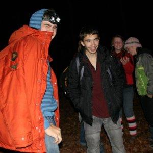 16.11.2009  23:40, autor: Teoretik / Na jednom z prvých kopcov dnešnej trasy