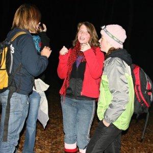 16.11.2009  23:41, autor: Teoretik / Plamienky na trase nočného pochodu