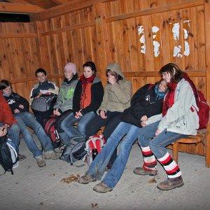 17.11.2009  6:29, autor: Teoretik / V cieli - na zastávke pri Stupave
