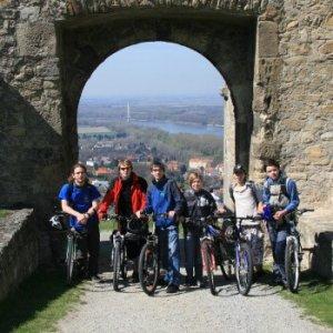 Cyklovýlet do Hainburgu (3.4.2010)