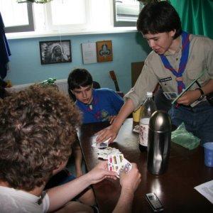 1.5.2010 12:34, autor: Teoretik / Spoločenské hry v klubovni - hrali sa aj karty