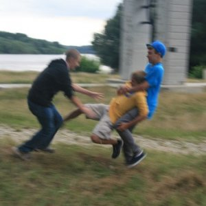 30.7.2010 17:23 / Veselé hry pod hradom (Funny games near the castle)