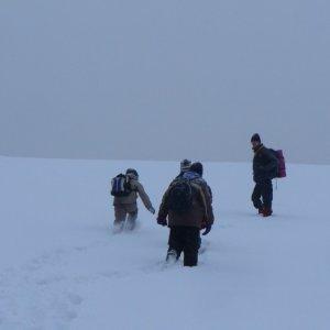 18.12.2010 15:15, autor: Amigo / Cesta na Zlatý vrch je náročná