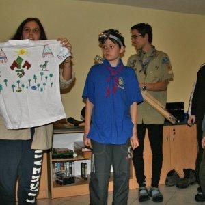 18.12.2010 23:03, autor: Teoretik / Vĺčatá - tričká pre skauta a skautku dňa na tábore