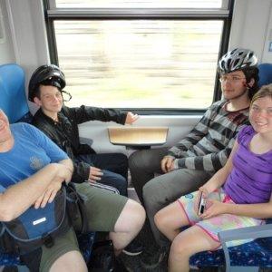 Veľkonočná bicyklovačka (21. až 24.4.2011)