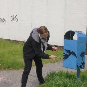 Ako Plamienky smetiaky natierali (30.04.2011)