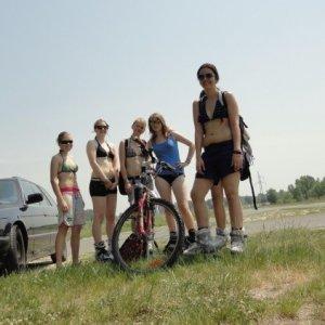 Plamienkársky výlet na hrádzu (21.5.2011)