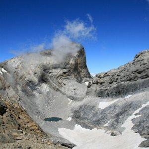 8.8.2011 13:03, autor: Teoretik / Úžasný pohľad na Lago Helado (Zmrznuté pleso)