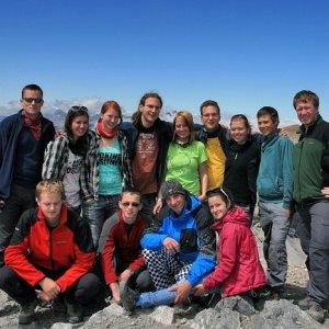8.8.2011 14:12, autor: Teoretik / Vrcholová foto (3355 m)