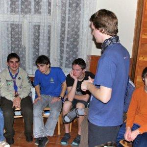 16.12.2011 23:58, autor: Teoretik / Program začal uprostred noci drobnou hrou pred spaním