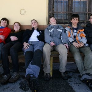 25.2.2012 11:08, autor: Teoretik / Na stanici pred odchodom domov