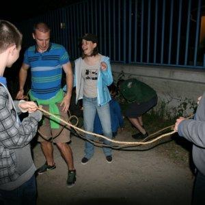 19.5.2012 22:09 / Nočná súťaž, pri ktorej bolo treba riešiť niekoľko nováčkovských úloh