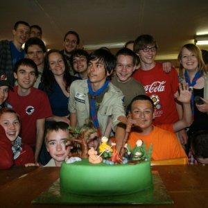 19.5.2012 22:53 / Úžasná torta na záver