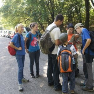 Prvý výlet vĺčat (16.9.2012)