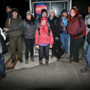18.11.2012 5:19, autor: Teoretik / Rýchle foto už po príchode autobusu
