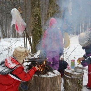 15.12.2012 13:46, autor: Janka / Varenie pudingu v zimnom lese