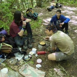10.5.2014 13:26, autor: Katka / Obed pri Silickej Ľadnici