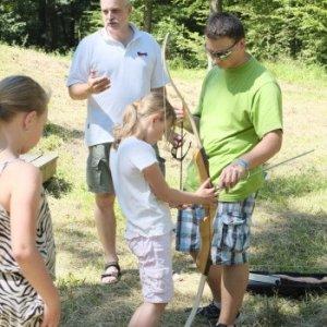 Opekačka s rodičmi (8.6.2014)
