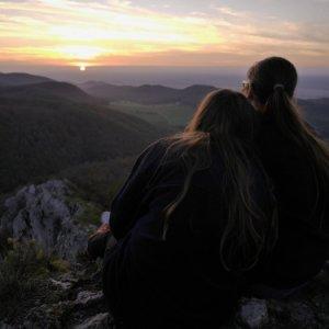 18.10.2014 17:55, autor: Škrečok / Klasická plamienkárska fotka z Ostrého kameňa