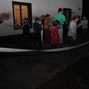 """31.10.2014 22:52, autor: Tuti / """"Ako skauti chatu bielym zlatom obehli"""""""