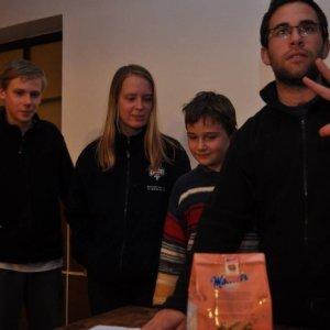 1.11.2014 23:41, autor: Tuti / Prví traja víťazi dostali sladké ceny :)