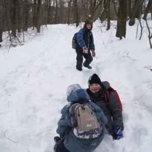 8.2.2015 15:04, autor: Vaniš / Chalanom sa páčil sneh