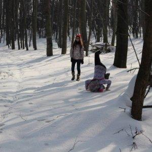 14.2.2015 12:55, autor: Lucia / Stojka na snehu, lebo prečo nie