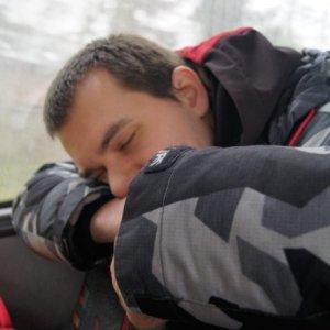 15.3.2015 10:42, autor: Vaniš / Maťo zaspal v autobuse