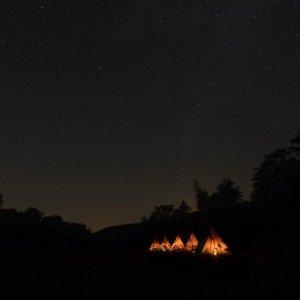18.7.2015 23:40 / Nočný pohľad na tábor