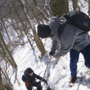 Ťažko sa ide tým strmým kopcom hore bez pomoci / DSC04403