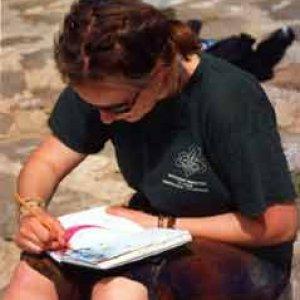 Hrášok a jej zápisník