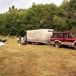 Letný tábor Východná 2003 (7.7. až 21.7.) - ...a už sme tu!
