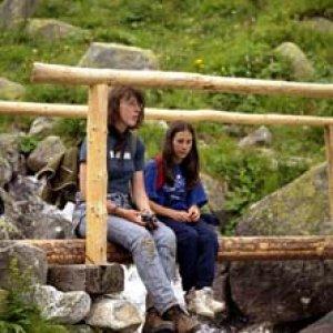Malý oddych na mostíku