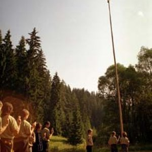 Posledný nástup na tejto časti tábora