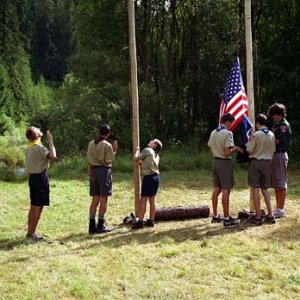 Stožiare boli dva, pre slovenskú aj americkú vlajku