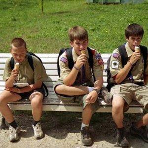 Napokon nás Bruce pozval na zmrzlinu