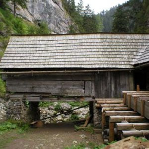 mlyn - technická budova