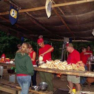 Príprava tradičného amerického jedla