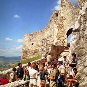 Spišský hrad pôsobí mohutným dojmom