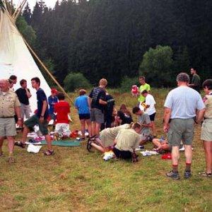 Na táborisku vypukla vymieňacia horúčka