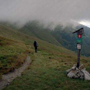 V Kopskom sedle sme zahli do doliny