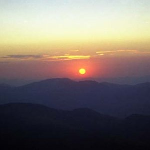 Západ Slnka z Veľkej Chochule