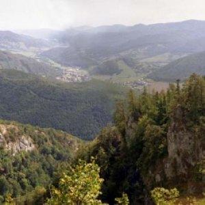 Pohľad z Poludnice na Muráň