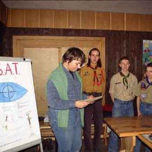 Ukončenie radcovského kurzu na Kačíne (27. až 29.2.2004)