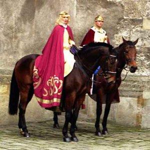 Kráľovský sprievod sa nestačil čudovať, čo sa to v tom Starom meste robí...