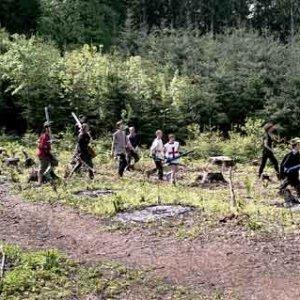 Už niekoľko rokov sa v jednu jarnú sobotu odohrávajú pod hradom Lukov tvrdé boje