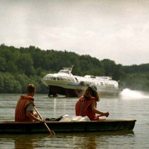 Splav Dunaja (25. až 27.6.2004)