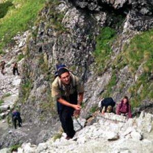 Výstup na Veľkú Svišťovku