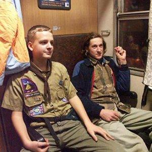 Vo vlaku... (prvé fotky s novým foťákom)